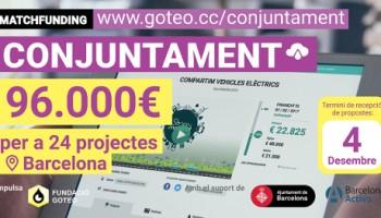 Conjuntament. Fent possibles els projectes socials a Barcelona
