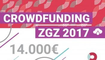 ¡Ya tenemos los 4 proyectos seleccionados para #CrowdfundingZGZ 2017!