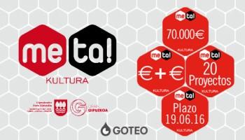 Convocatoria abierta: 70.000 euros para multiplicar la financiación de hasta 20 proyectos culturales de Gipuzkoa